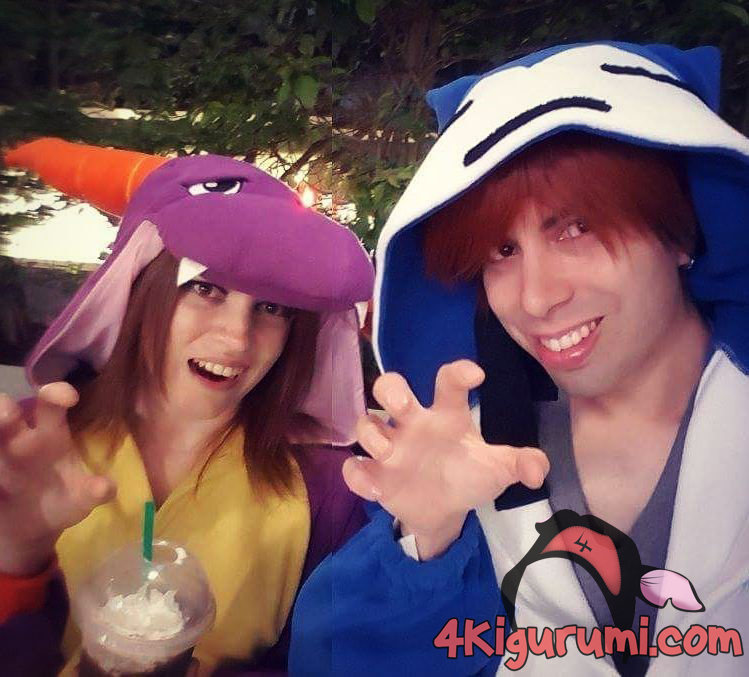 Spyro and Snorlax Kigurumi Onesie Reviewed by Angelia Karnes