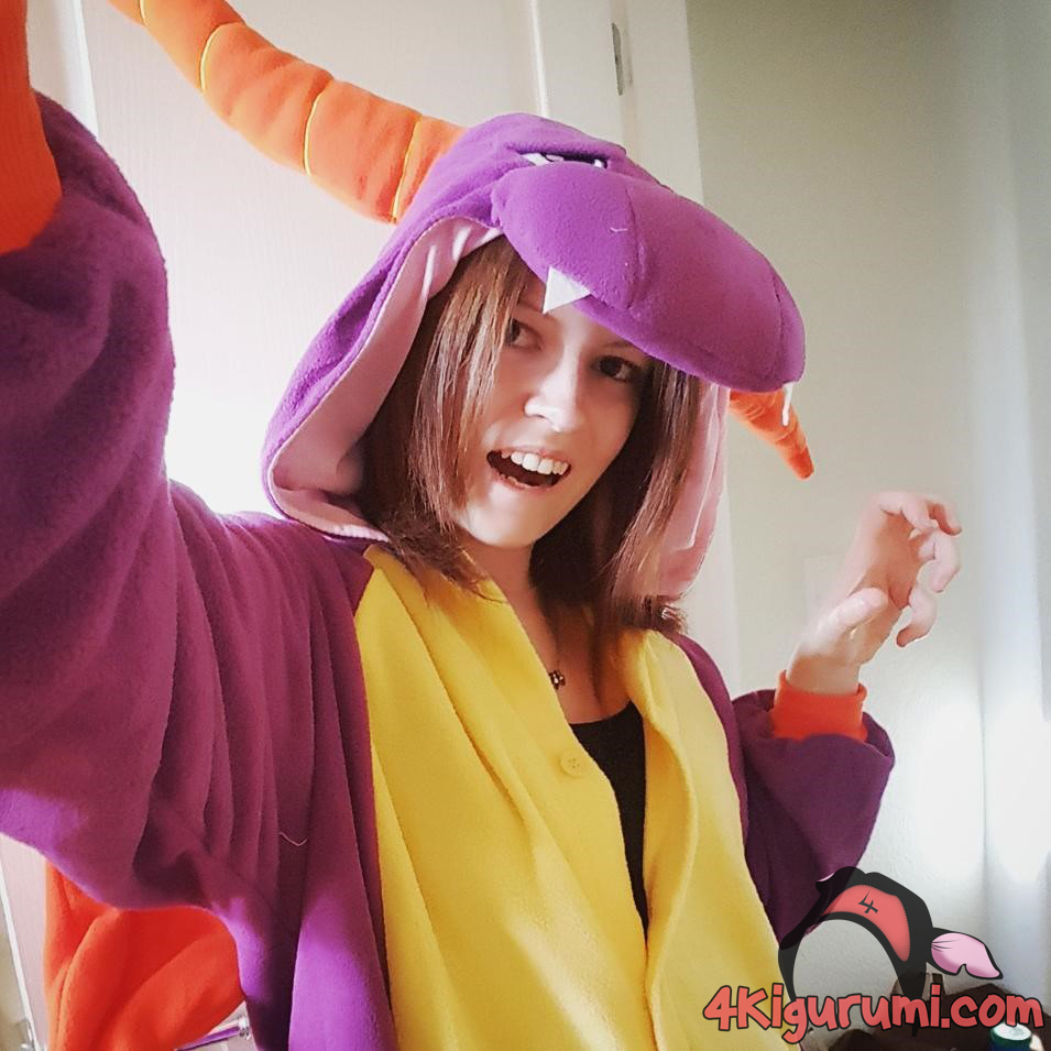 Spyro The Dragon Halloween Costume