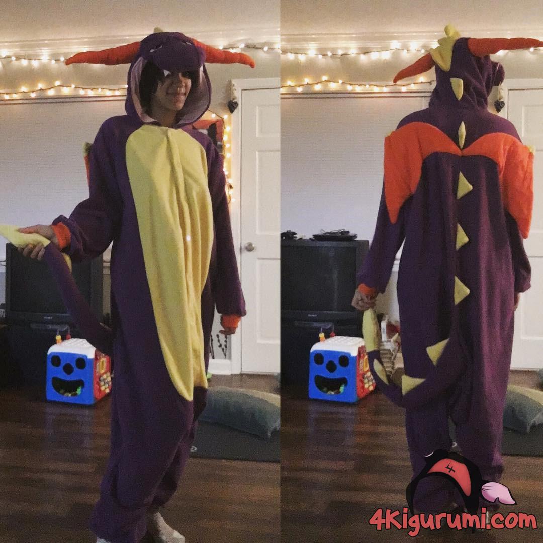Spyro Kigurumi Onesie Reviewed by Knell Leera