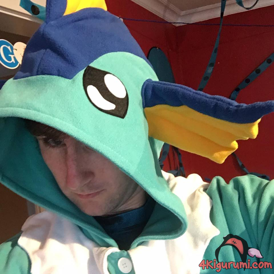Vaporeon Kigurumi Reviewed by Marcus Vusovich